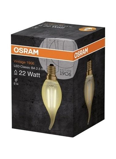 Osram Vintage 1906 Led Classic A Gold 22Watt Non-Dim 2.5W/825 E14 Renksiz